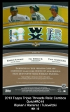 2010 Topps Triple Threads Relic Combos Gold #RC10