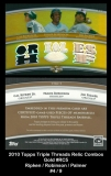 2010 Topps Triple Threads Relic Combos Gold #RC5