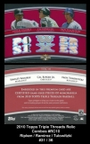 2010 Topps Triple Threads Relic Combos #RC10