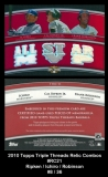 2010 Topps Triple Threads Relic Combos #RC21