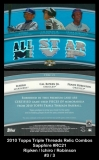 2010 Topps Triple Threads Relic Combos Sapphire #RC21