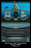 2010 Topps Triple Threads Relics Sapphire #R86