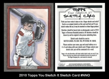 2010 Topps You Sketch It Sketch Card #NNO 7