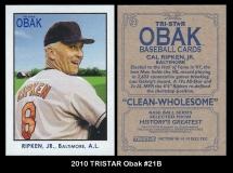 2010 TRISTAR Obak #21B