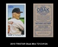 2010 TRISTAR Obak Mini T212 #12A