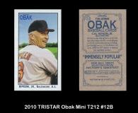 2010 TRISTAR Obak Mini T212 #12B