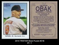 2010 TRISTAR Obak Purple #21B