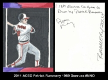 2011 ACEO Patrick Rummery 1989 Donruss #NNO