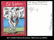 2011 ACEO Patrick Rummery 1990 Donruss #NNO