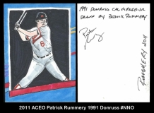 2011 ACEO Patrick Rummery 1991 Donruss #NNO