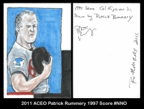 2011 ACEO Patrick Rummery 1997 Score #NNO
