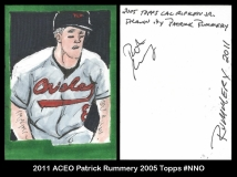 2011 ACEO Patrick Rummery 2005 Topps #NNO