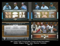2011 Topps Triple Threads Relic Combos Double Sepia #RDC1