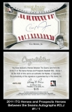 2011 ITG Heroes and Prospects Heroes Between the Seams Autographs #CLJ