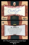 2011 Playoff Contenders Sweet Signs Autographs #12