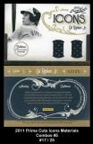 2011 Prime Cuts Icons Materials Combos #5