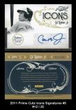 2011 Prime Cuts Icons Signatures #5