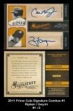 2011 Prime Cuts Signature Combos #1