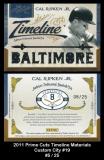 2011 Prime Cuts Timeline Materials Custom City #19