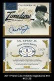 2011 Prime Cuts Timeline Signatures #19