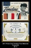 2011 Prime Cuts Timeline Trios Materials Prime #19