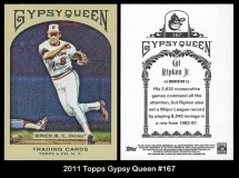 2011 Topps Gypsy Queen #167