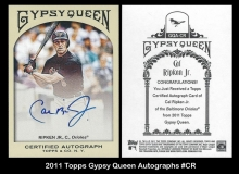 2011 Topps Gypsy Queen Autographs #CR
