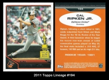 2011 Topps Lineage #194