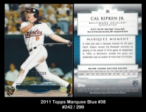 2011 Topps Marquee Blue #38