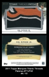 2011 Topps Marquee Titanic Threads Patches #TTJP42