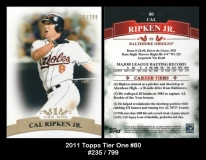 2011 Topps Tier One #80