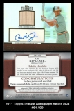 2011 Topps Tribute Autograph Relics #CR