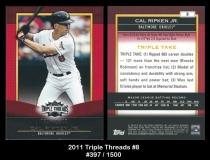2011 Topps Triple Threads #8