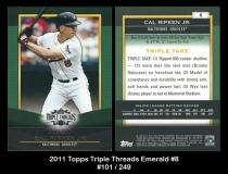 2011 Topps Triple Threads Emerald #8