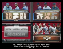 2011 Topps Triple Threads Relic Combos Double #RDC1