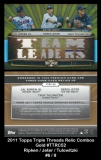 2011 Topps Triple Threads Relic Combos Gold #TTRC52