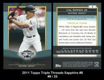 2011 Topps Triple Threads Sapphire #8