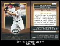 2011 Topps Triple Threads Sepia #8