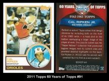 2011 Topps 60 Years of Topps #91