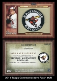 2011 Topps Commemorative Patch #CR