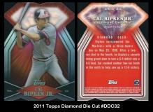 2011 Topps Diamond Die Cut #DDC32