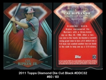 2011 Topps Diamond Die Cuts Black #DDC32