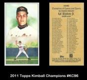 2011 Topps Kimball Champions #KC96