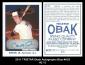 2011 TRISTAR Obak Autographs Blue #A33