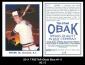 2011 TRISTAR Obak Blue #111