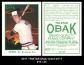 2011 TRISTAR Obak Green #111