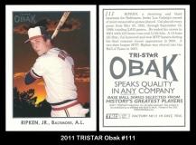 2011 TRISTAR Obak #111
