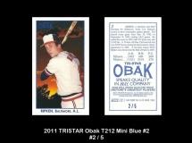 2011 TRISTAR Obak T212 Mini Blue #2