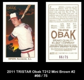 2011 TRISTAR Obak T212 Mini Brown #2