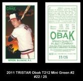 2011 TRISTAR Obak T212 Mini Green #2